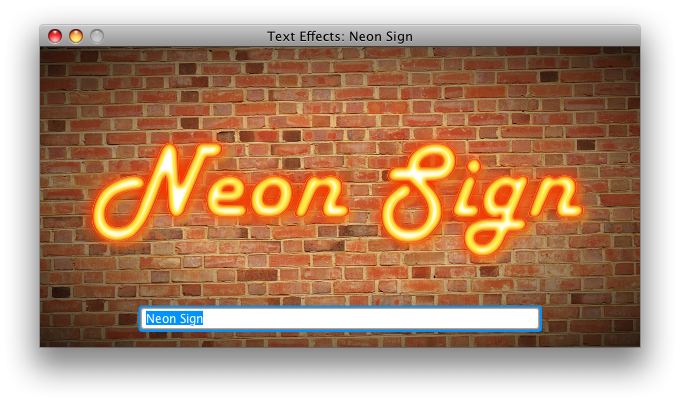 Neon Sign Screenshot