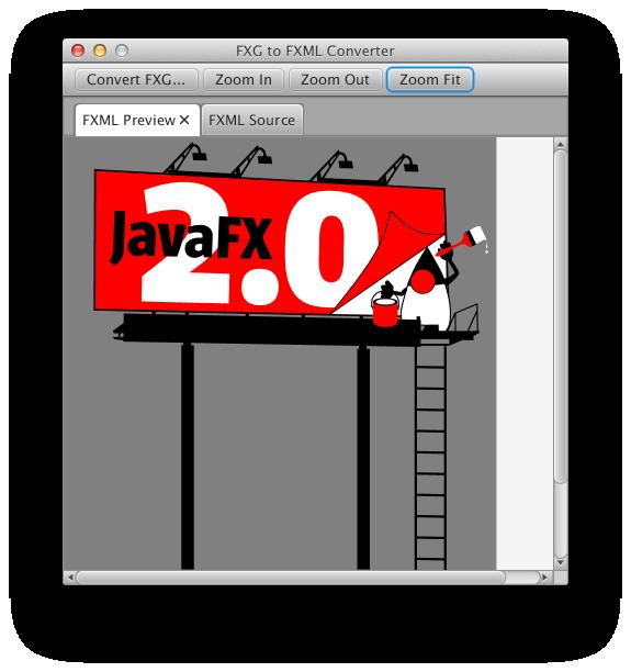 FXG to FXML in JavaFX