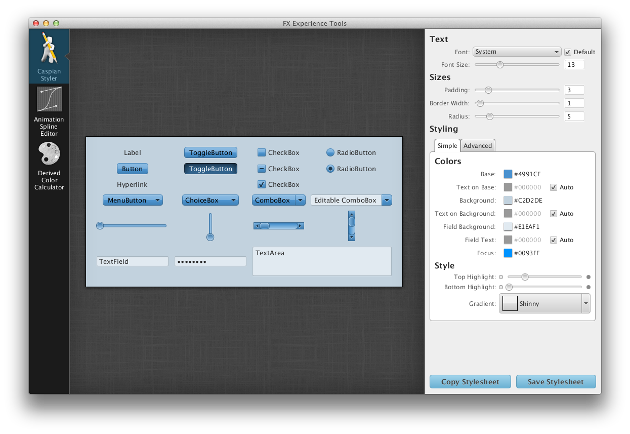Announcing: FX Experience Tools | JavaFX News, Demos and