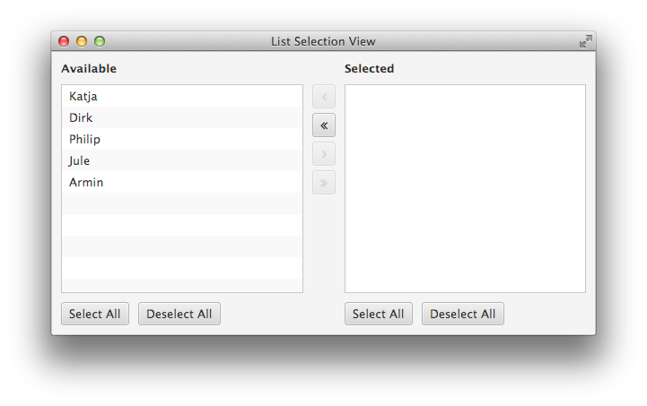 list-selection-view